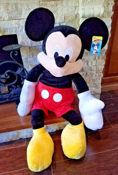 Disney Junior Mickey Mouse Plush Stuffed Animal Clubhouse Character Jumbo  36