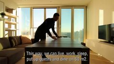 A 'five-room apartment' at 60 square meters on Vimeo