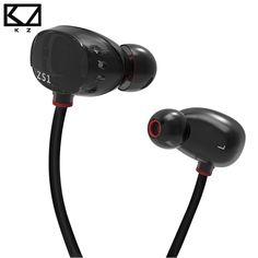 Original Brand Earphone Head phone Luxury Hifi Double Unit Microphone For iphone 5 6 Plus/Samsung S7 Mobile Phone Bass Stereo