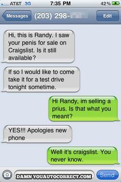 Dang spell check! LOL (And I have a Prius so double funny!)