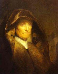 Portrait of the Artist's Mother, Rembrandt Van Rijn Rembrandt Portrait, Rembrandt Paintings, Art Occidental, Steinmetz, Dutch Golden Age, Baroque Art, The Artist, Free Art Prints, Dutch Painters