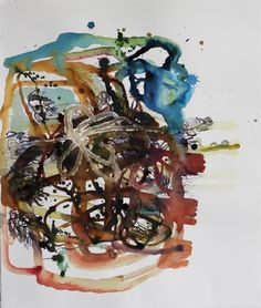 Elizabeth Terhune Conditions, Paintings bistre, ink and acrylic on paper