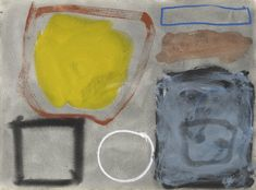 Dirty Yellow In Granular Grey: March 1961 by Patrick Heron on Widewalls. Browse more artworks by Patrick Heron and auction records with prices and details of each sale! Patrick Heron, Global Art, Inspirational Gifts, Art Market, Lovers Art, Yorkie, Les Oeuvres, Contemporary Art, Abstract Art