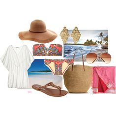 """Beach wear 2"" by coombsie24 on Polyvore"