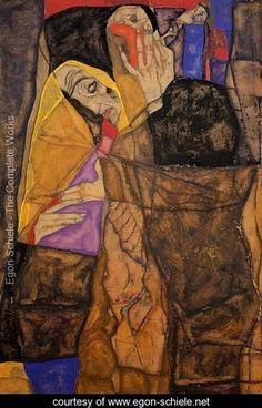 The Blind  I - Egon Schiele - www.egon-schiele.net