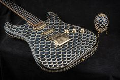 This Luxurious One-of-a-Kind Custom Stratocaster is Inspired by a Faberge Egg #design trendhunter.com