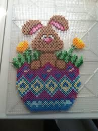 Image result for easter flowers perler bead patterns