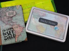 Viagens e Geografia:    Agenda comprada na FNAC