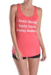 Beach Monday Graphic Tank Top