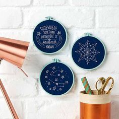 Bought your copy of Mollie Makes 72 in Sainsbury's? Dream of the night skies with this extra free kit in three starry designs – we've even included a pretty display hoop! You will need: • Your free stitch kit inside Mollie Makes 72 (only available to readers who bought the magazine from Sainsbury's) • Scissors... Continue reading →