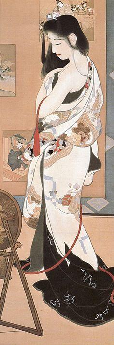 島成園 Shima Seien (1892-1970)