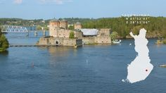 Look at Olavinlinna from air. Fortification, Helsinki, Finland, Nostalgia, Europe, Explore, Country, World, Water
