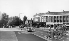 Town Centre c1965, Upminster - where I grew up in the 60's and 70's