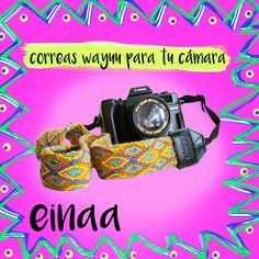 artesania wayuu - hecho a mano - hecho en Colombia - accesorio para cámara - Guajira