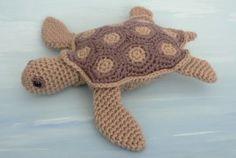 Sea Turtle amigurumi crochet pattern