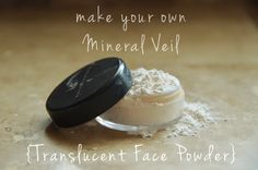 Mineral Veil DIY - hmm really? Have to try it. I go through this stuff like crazy.