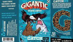 Image result for Gigantic beer labels