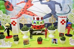 Tininha Decorações: Miraculous - Ladybug