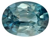 Cambodian Blue Zircon Average 1.60ct 8x6mm Oval (ZBV054)