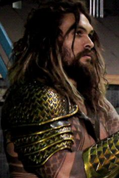 Pin for Later: These Peeks of Jason Momoa as Aquaman Prove That He's the Perfect Casting Choice