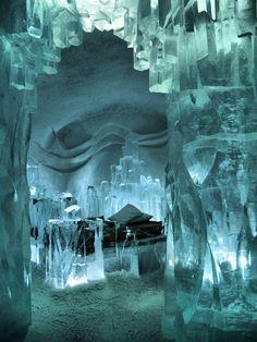 Ice Hotel Kiruna, Sweden