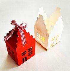 Photophore en papier: tutoriel pour faire une maison