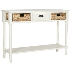 nice Safavieh Christa Distressed White Console Table Check more at http://hasiera.co.uk/s/tables/product/safavieh-christa-distressed-white-console-table/