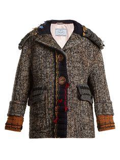 Click here to buy Prada Ribbed-edge tweed jacket at MATCHESFASHION.COM