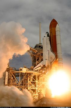Rockwell Space Shuttle aircraft picture