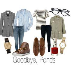 """""""Goodbye, Ponds (Doctor Who)"""" by ja-vy on Polyvore"""