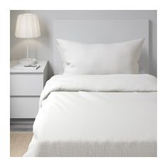 IKEA OFELIA VASS quilt cover and 2 pillowcases Concealed press studs keep the quilt in place.