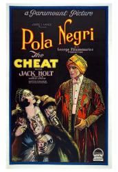 The Cheat movie poster (1923) [Pola Negri & Jack Holt] 18 X 24 Only $7.97