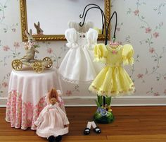 Easter 2. Love the bottom of the dress display stand