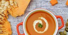 Tummy Warming Pumpkin Soup!  looks soooooo good.