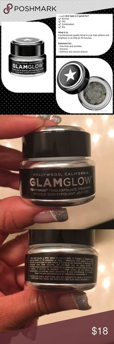 🆕⚫️ GLAMGLOW Youthmud Treatment⚫️ Brand new. Never used and unopened!! I have sensitive skin so I cannot use this treatment that came in the set. Details are posted in the first picture. You can also bundle this with my cosmetic bundle/lipsticks☺️ Make an offer with the bundle and I'll counter with my LOWEST offer.  No trades. No lowballing😘 Sephora Makeup