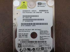 Western Digital WD800BEVS-22RST0 DCM:HBCTJBBB 80gb Sata - Effective Electronics