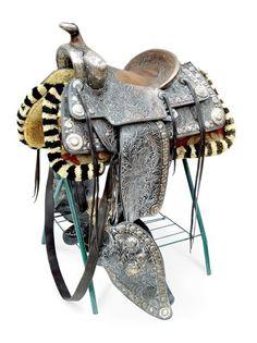 Bohlin sterling silver saddle...love all the sterling!!