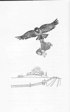 illustration from Little old Mrs Pepperpot