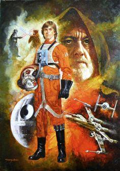 Star Wars: A New Hope by Sanjulian | Manuel Clemente