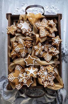 Christmas Cookies Gift, Christmas Sweets, Christmas Gingerbread, Christmas Cooking, Christmas Mood, Christmas Goodies, Holiday Treats, Holiday Recipes, Holiday Gifts