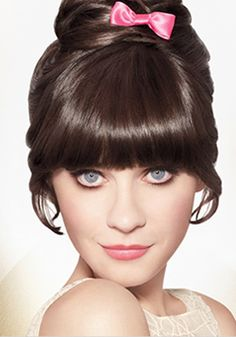 Style your hair just like Zooey Deschanel! ❤ www.healthylivingmd.vemma.com ❤