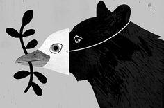 Illustration Mitch Blunt for New York Times Illustration Design Graphique, Art Et Illustration, Art Graphique, Image Deco, Ouvrages D'art, You Draw, Art Design, Henna Designs, Blackwork