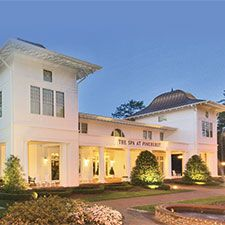 Enjoy a relaxing retreat after a day of golf at the Spa at Pinehurst in North Carolina