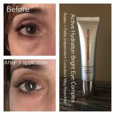 Time to rejoice if you have tired looking eyes, bags and/or dark circles. Rodan and Fields Brightening Eye Serum is what you need. Available 11/2, you can get on my waitlist now to be sure you get your hands on it first! Call/Text/email for more info or to order: 636-248-4463 reaganoglesby@gmail.com