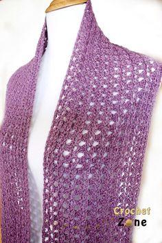 Eve's Scarf By MA Santos - Free Crochet Pattern - (ravelry)