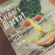 Head to the Rogers Farmer's Market this weekend to support your local farmers and craftsmen! Pic source: NovoStudio