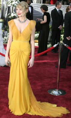 11 Years of epic Oscars red carpet dresses: Michelle Williams