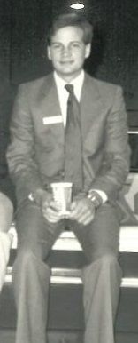 Throwback Thursday! A young Dave Briggs starting out in the boating industry!