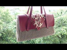 Tutorial: La Borsa Marilyn borsa all'uncinetto elegante, pochette all'uncinetto, - YouTube