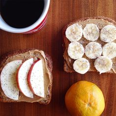 Starting today with an #OjaiPixie, sliced fruit on #EzekielBread topped with Chia Seeds, and #coffee! #citrus101 Do you have a favorite desk breakfast?